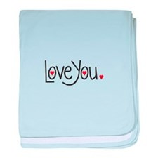 love you baby blanket