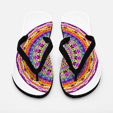 Mandala Magic Flip Flops