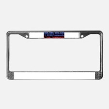 C for Communist License Plate Frame