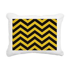 Steeler Chevron Rectangular Canvas Pillow
