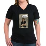 """""""My Mommy Says I'm Special"""" Photo Women's V-Neck D"""
