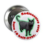 Radioactive Cat Button