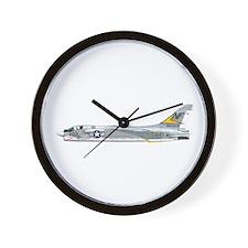 Unique F 8 Wall Clock
