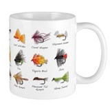 Fishing Small Mugs (11 oz)