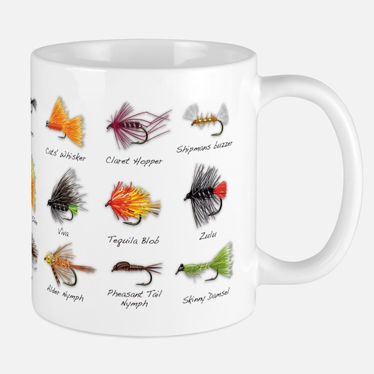 fly fishing drinkware coffee mugs drinking glasses