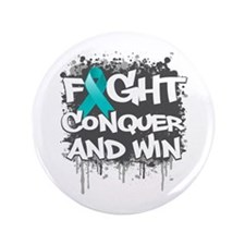 "PCOS Fight 3.5"" Button (100 pack)"