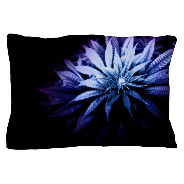 Blue Kush Pillow Case By Beautifulbed