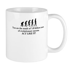 Evolutionary Success Mugs