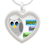 Hoot for football! Necklaces