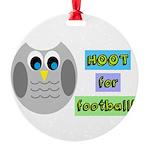 Hoot for football! Ornament