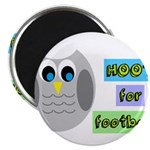 Hoot for football! Magnets