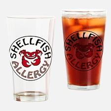 SHELLFISH ALLERGY Drinking Glass