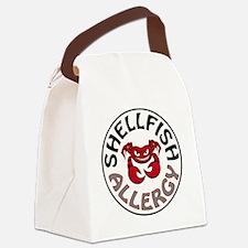 SHELLFISH ALLERGY Canvas Lunch Bag