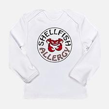 SHELLFISH ALLERGY Long Sleeve T-Shirt