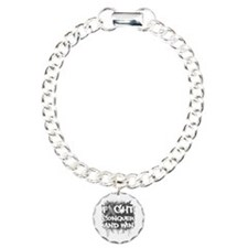 Parkinson's Disease Fight Charm Bracelet, One Char