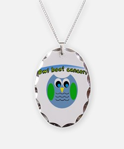 Owl beat cancer! Necklace