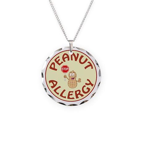 peanut allergy necklace by medicalemergencyjewelry