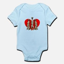 Heart Meerkats Body Suit