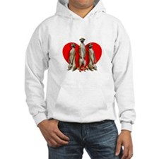 Heart Meerkats Hoodie