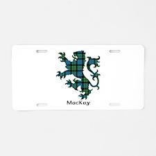 Lion - MacKay Aluminum License Plate