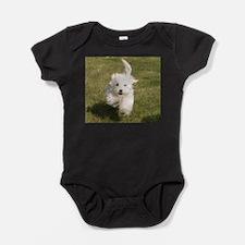 Run Bichon Run Baby Bodysuit