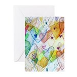 Community Hearts Color Greeting Cards (Pk of 10)