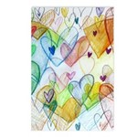 Community Hearts Color Postcards (Package of 8)