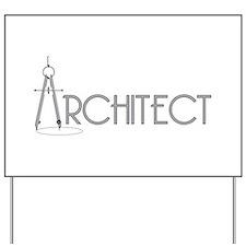 Architect Yard Sign