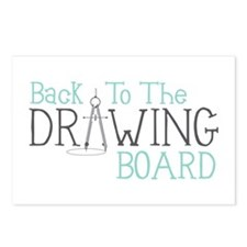 Back To The Drawing Board Postcards (Package of 8)