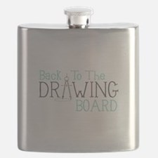 Back To The Drawing Board Flask