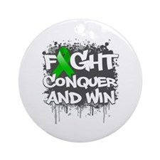 Mental Health Fight Ornament (Round)