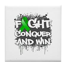 Mental Health Fight Tile Coaster