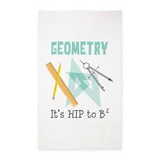 Geometry 3'x5' Area Rug