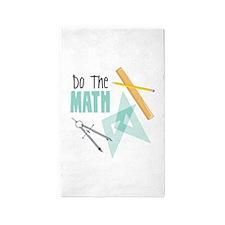 Do The Math 3'x5' Area Rug