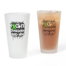 Lyme Disease Fight Drinking Glass