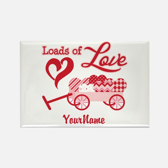 Loads of Love Rectangle Magnet