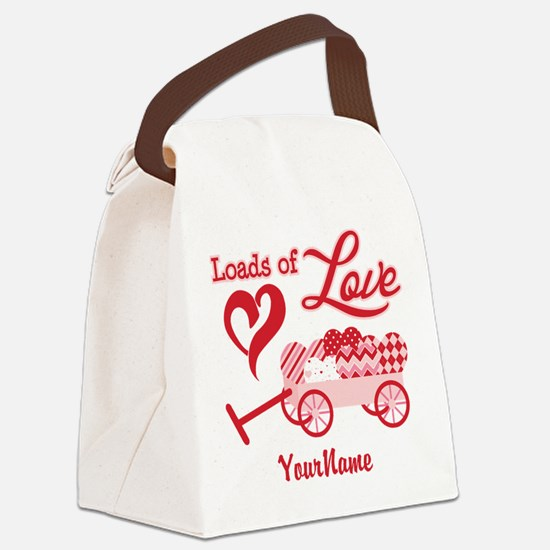 Loads of Love Canvas Lunch Bag