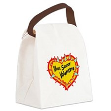 Your Sassy Valentine Canvas Lunch Bag