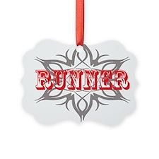 Runner Tribal Ornament