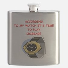cribbage Flask