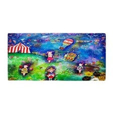 A Day At The Circus Beach Towel