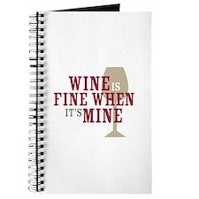 Wine is Fine Journal