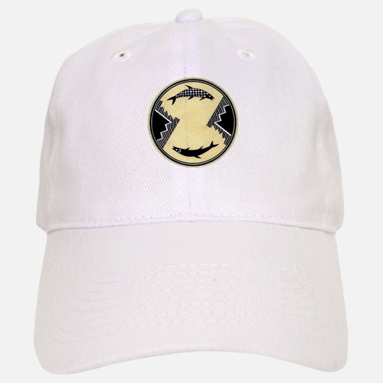 MIMBRES CLOCKWISE FISH BOWL DESIGN Baseball Baseball Cap