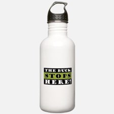 The Buck Stops Here Water Bottle