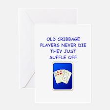CRIBBAGE3 Greeting Cards