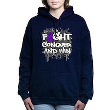 Epilepsy Fight Hooded Sweatshirt