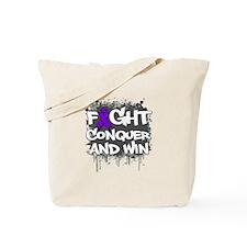 Epilepsy Fight Tote Bag