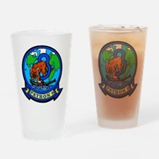 VP 8 Tigers (Blue) Drinking Glass
