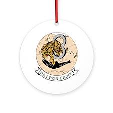 VP 8 Tigers Ornament (Round)