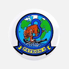 VP 8 Tigers (Blue) 3.5&Quot; Button